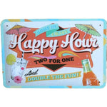 happy hour plaque