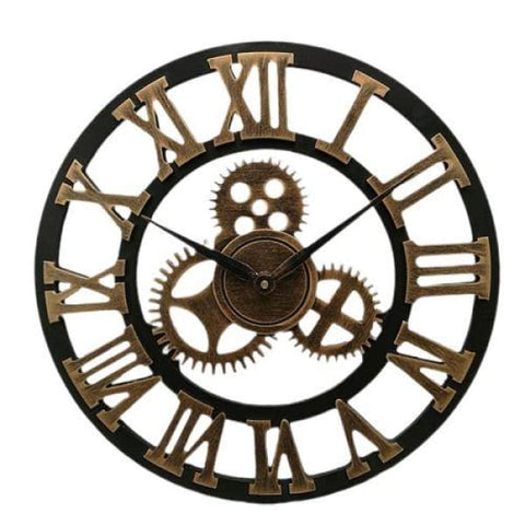Horloge Industrielle Engrenage
