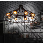 lustre salon industriel