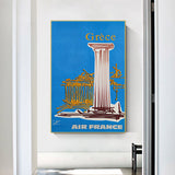 peintre mathieu affiche air france
