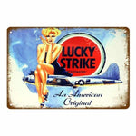 plaque lucky strike