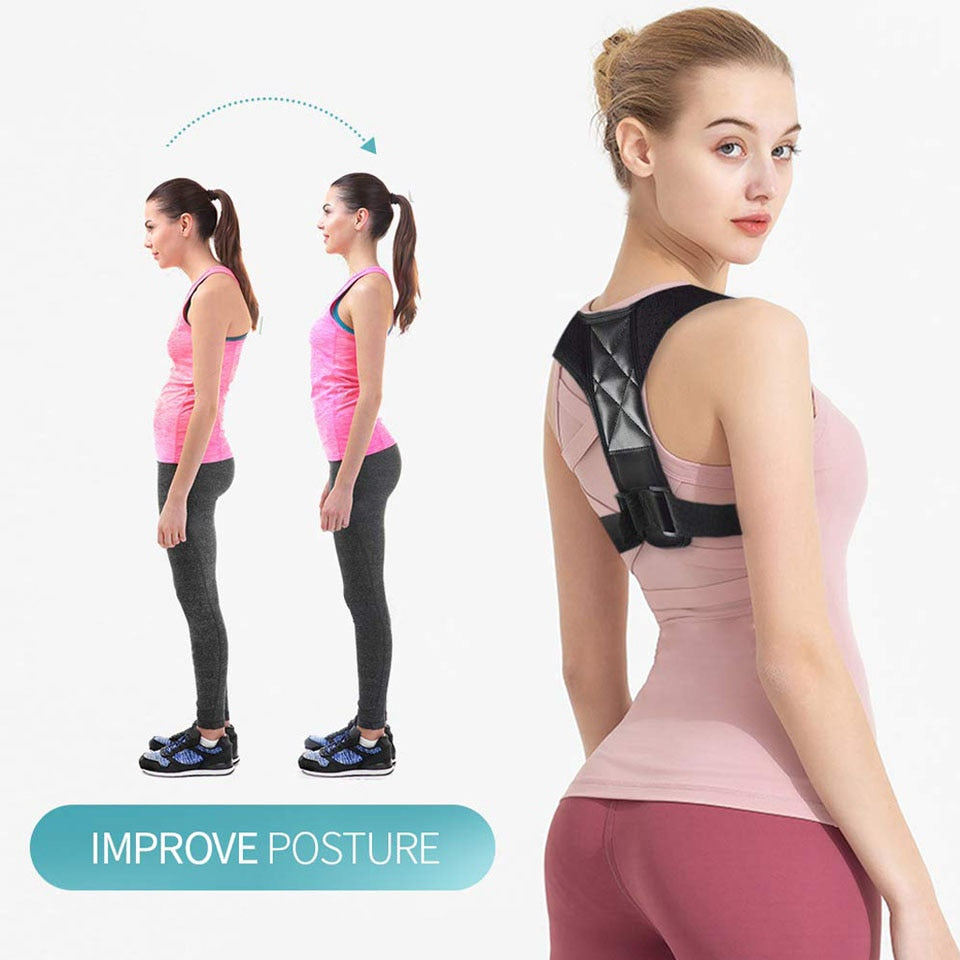 Porfecto™ Brace Posture Corrector – Back & Shoulder Support
