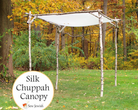 Silk Wedding Chuppah Canopy