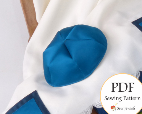 Kippah Sewing Pattern - PDF Pattern