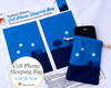 Cut & Sew Cell Phone Sleeping Bag - Under a Starry Sky