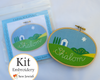 Shalom Home Embroidery Kit