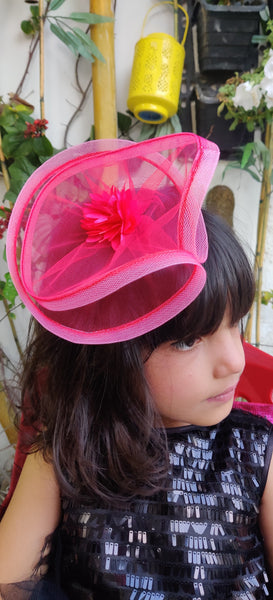 Pink Fancy Fascinator