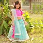 Load image into Gallery viewer, Aqua Tradition Lehenga