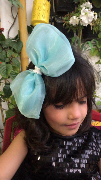 Butterfly Organza Bow Clip