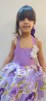 Load image into Gallery viewer, Lavender Garden Dress