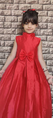 Holiday Red Party Gown