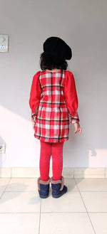 Load image into Gallery viewer, Season's Favourite Check Dress