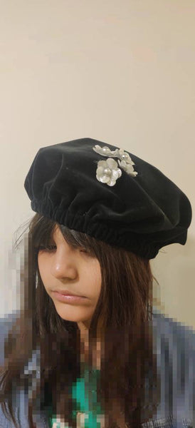 Fancy Beret Cap