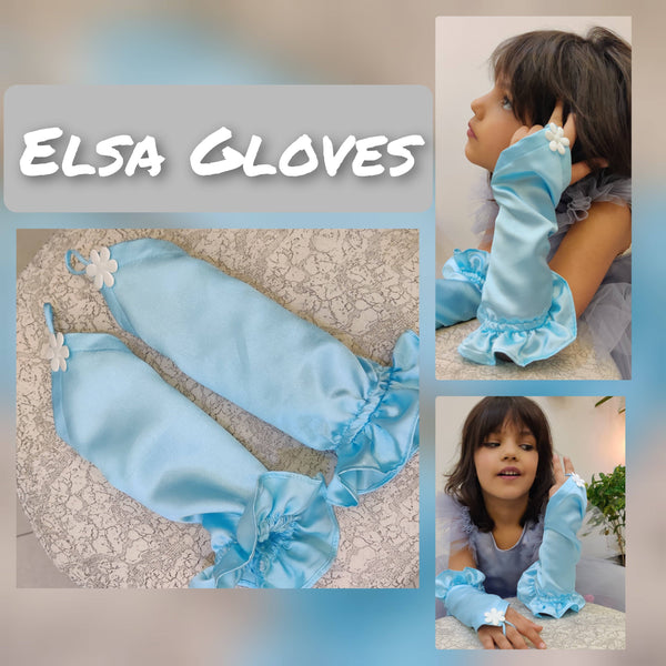 Frozen Elsa Gloves