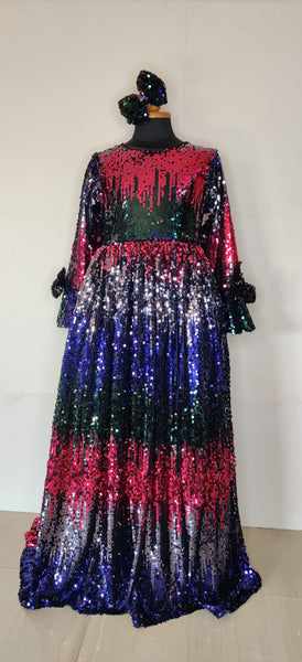 Dazzling Shimmer Gown