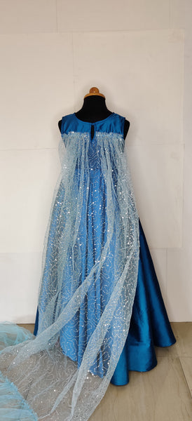 Snow Queen Elsa Dress