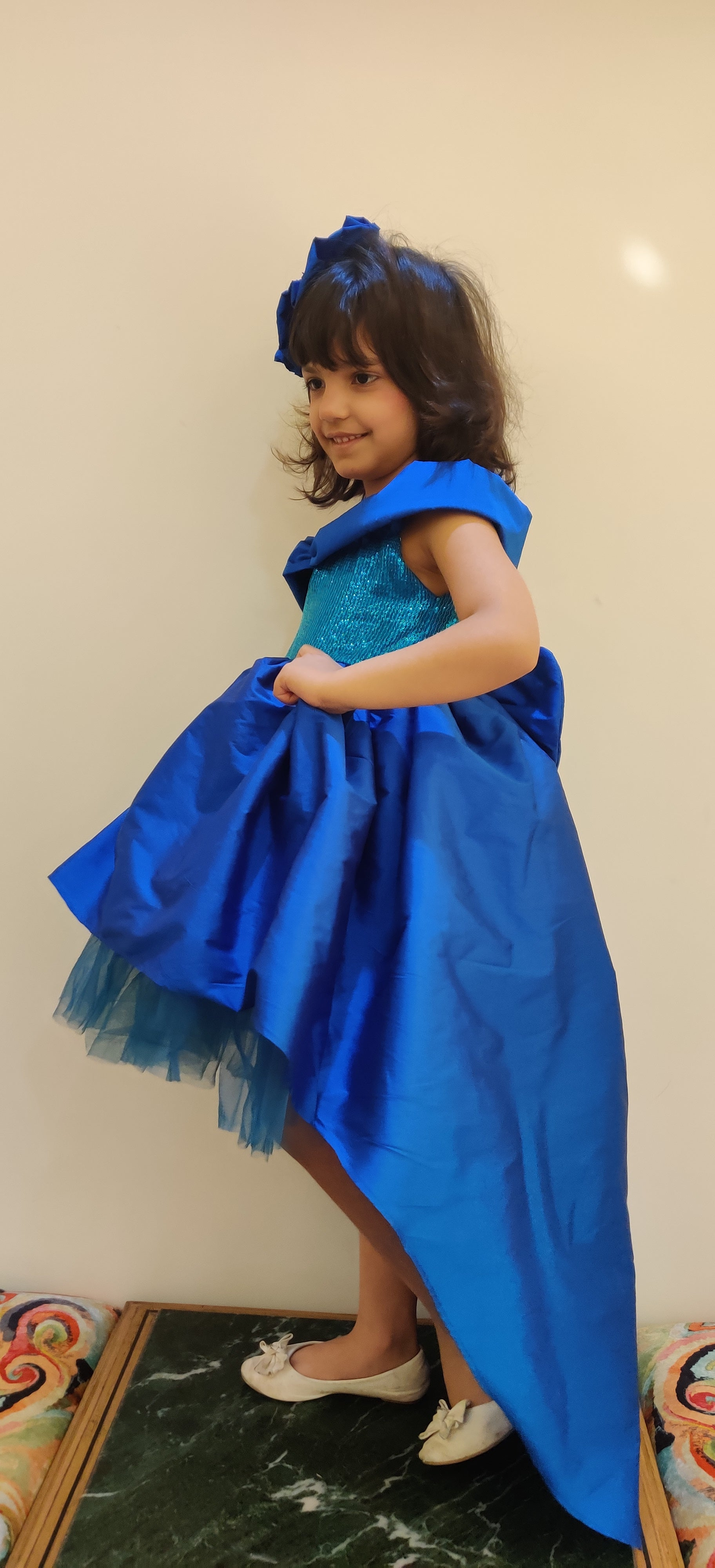 Sky and Star Hi Low Party Dress