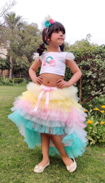 Unicorn Wish Skirt Set