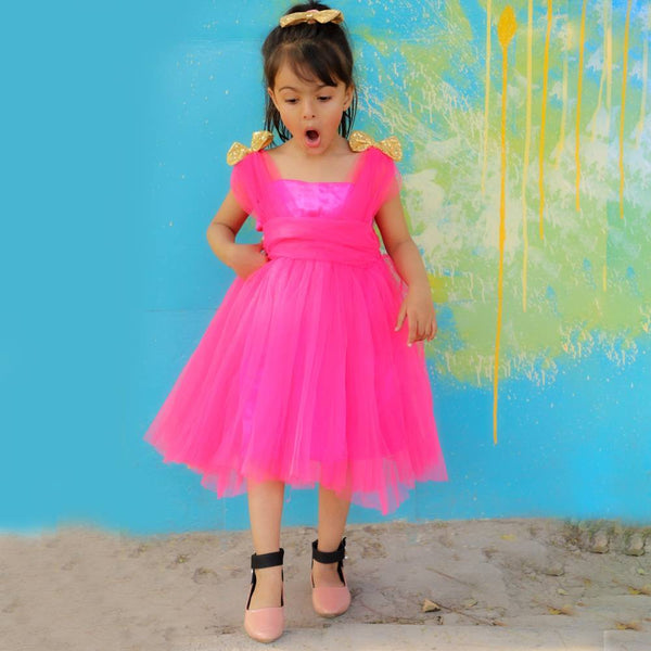 Pink Delight Frock