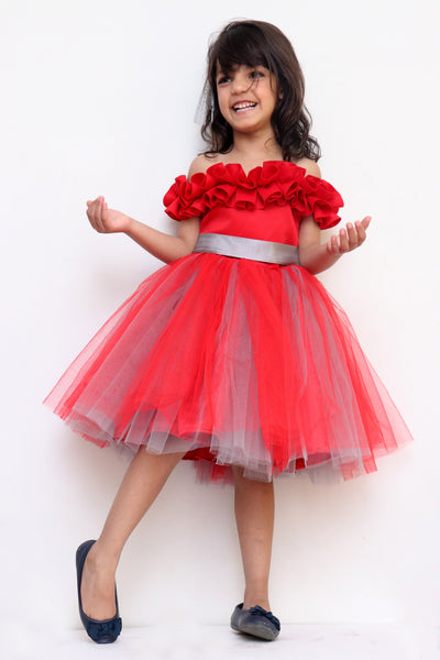 Party Frock for Girls