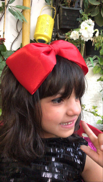 Red Luxury Bow