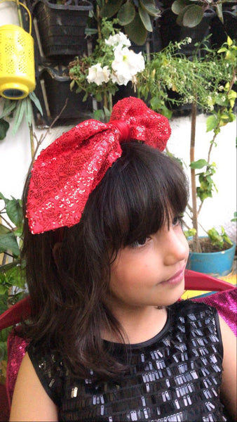 Jazz n Shimmer Red Bow