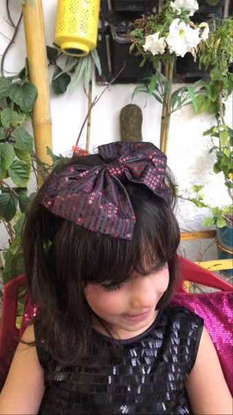Sparkle Mini Red Bow