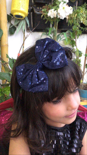 Sparkle Mini Blue Bow