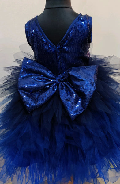 Blue Star Hilow Party dress