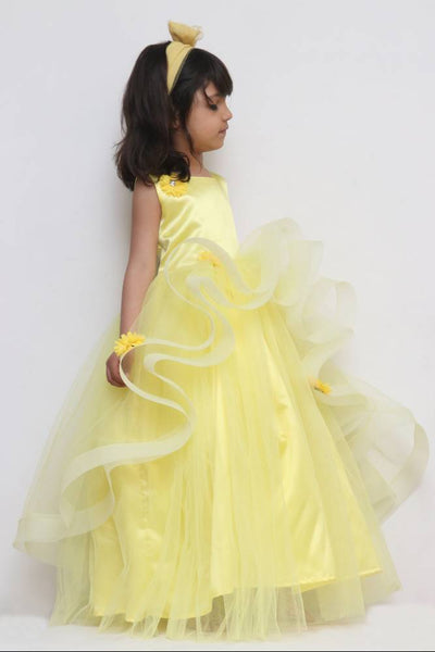 Mid Summer Party Ruffled Gown
