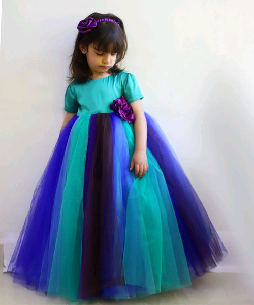 Peacock Grace Tutu Dress