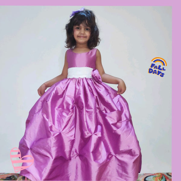 Orchid Beauty Party Gown