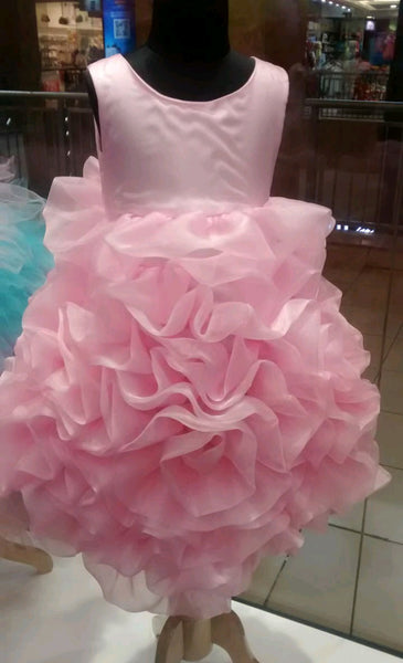 Pink Rose Garden Party Dress