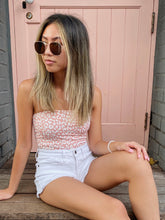 Load image into Gallery viewer, Lala Pink Leopard Tube Top