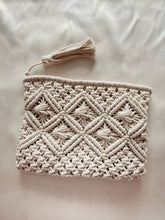 Load image into Gallery viewer, Bali Macrame Clutch