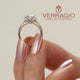 Diamond Engagement Ring Verragio Couture Collection 0426R 1.45ctw