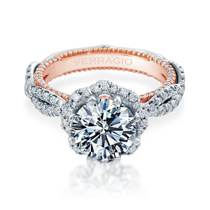 Diamond Engagement Ring Verragio Couture Collection 0466R 1.85 ctw
