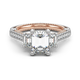 Diamond Engagement Ring Verragio Couture Collection 0470EM 1.85ctw