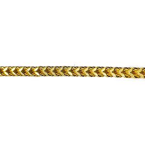 Franco Link Chain 10k 30 inch 5.5 mm