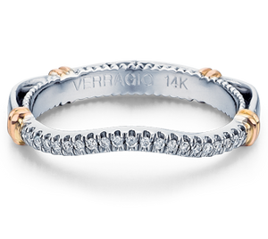 Diamond Wedding Band Verragio Parisian Collection 117W 0.10ctw