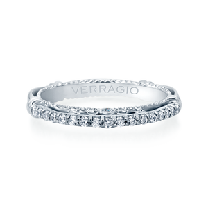 Diamond Wedding Band Verragio Parisian Collection 124W 0.25ctw