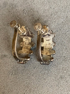 Vintage Souvenir Sterling Earrings