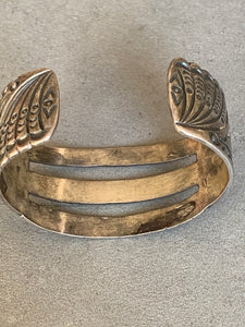 Sterling Cuff Navajo hand made