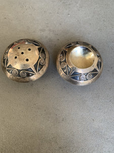 Tim Kee Whitman Sterling Salt & Pepper