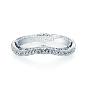 Diamond Wedding Band Verragio Venetian Collection 5061W 0.35 ctw