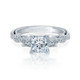 Diamond Engagement Ring Verragio Insignia Collection 7074P 1.55ctw