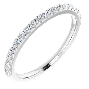 Diamond Shared-Prong Wedding Band 0.25 ctw 14k