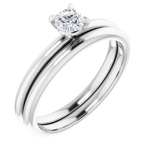 Diamond Solitaire Engagement Ring 0.33 ct