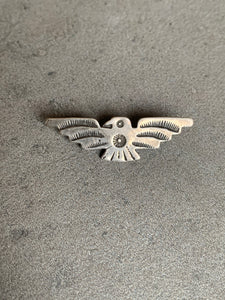 Fred Harvey Era Sterling Eagle Pendant