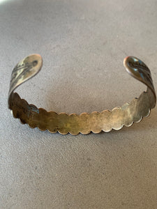 Fred Harvey Era Bracelet/ Coin Silver